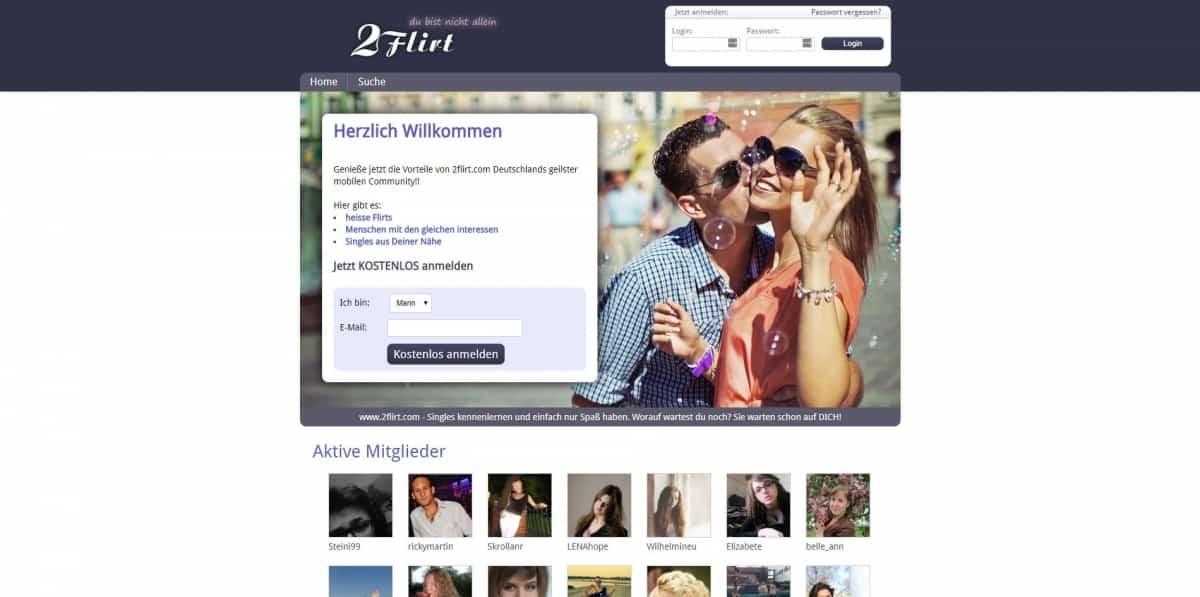 Testbericht: 2flirt.com