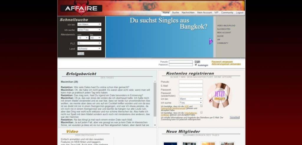 Testbericht: Affaire.com