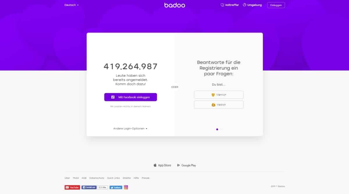 Testbericht: Badoo.com