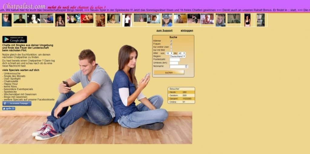 Testbericht: Chatpalast.com