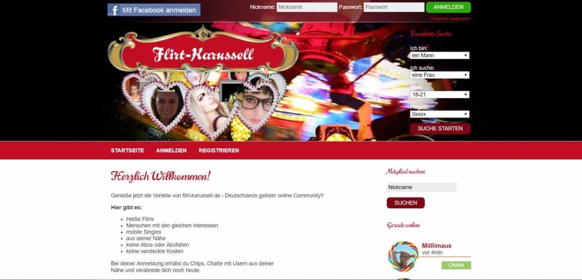 Testbericht: Flirt-Karussell.de