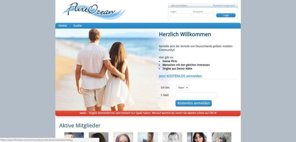 Testbericht: Flirtozean.de