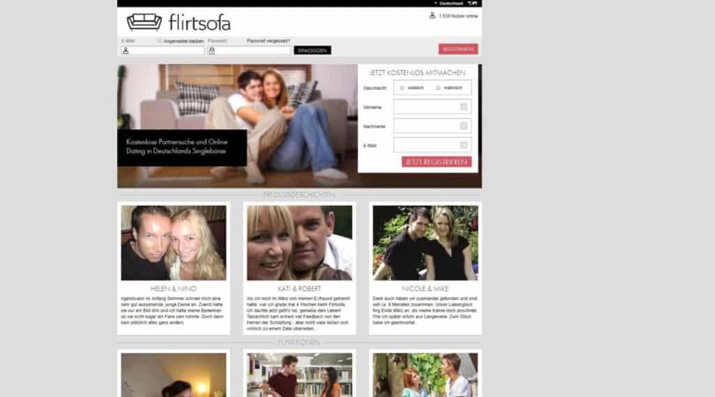 Testbericht: Flirtsofa.com