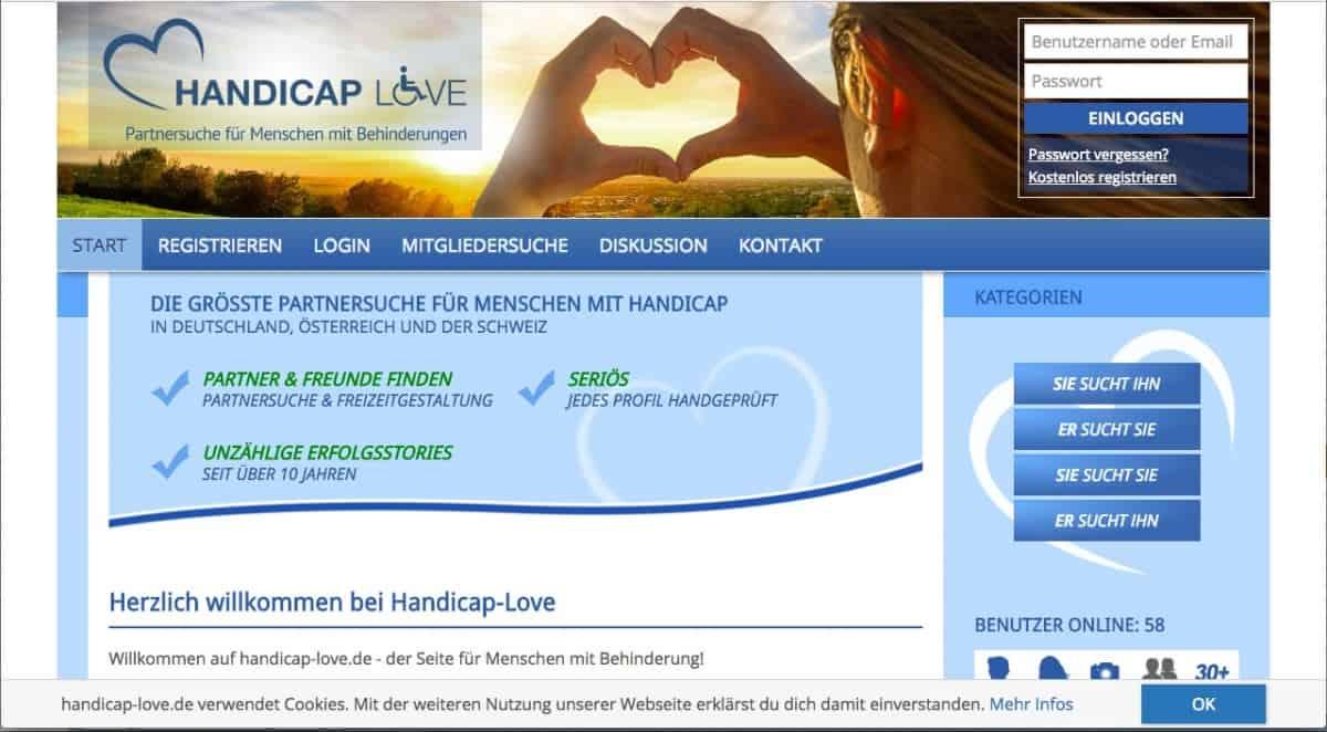 Testbericht: Handicap-Love.de