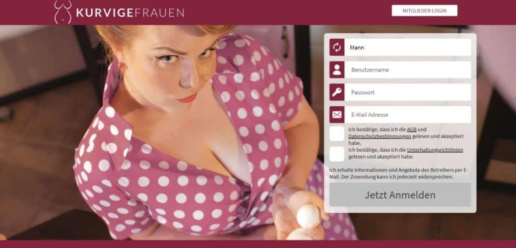 Testbericht: KurvigeFrauen.com