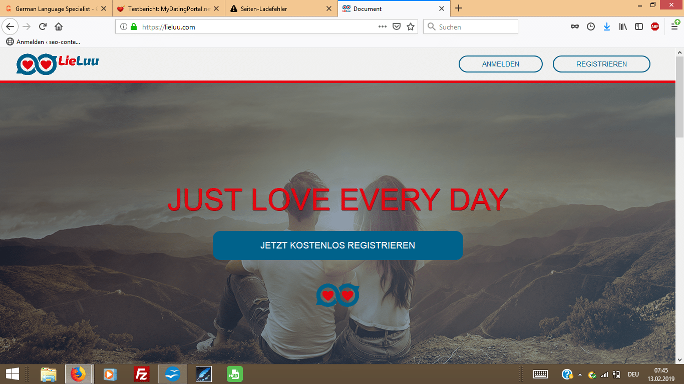 lieluu.com-Startseite