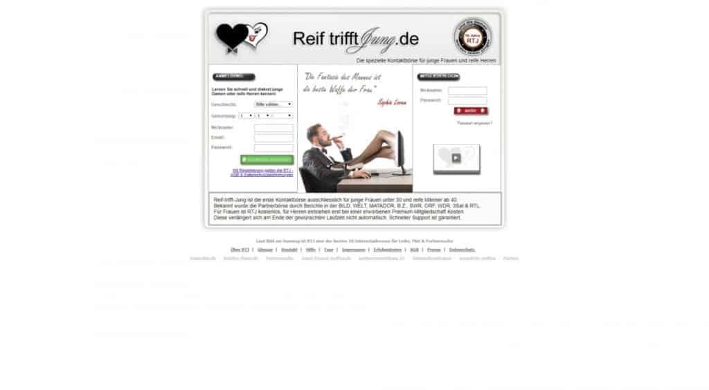 Testbericht: Reif-trifft-Jung.de