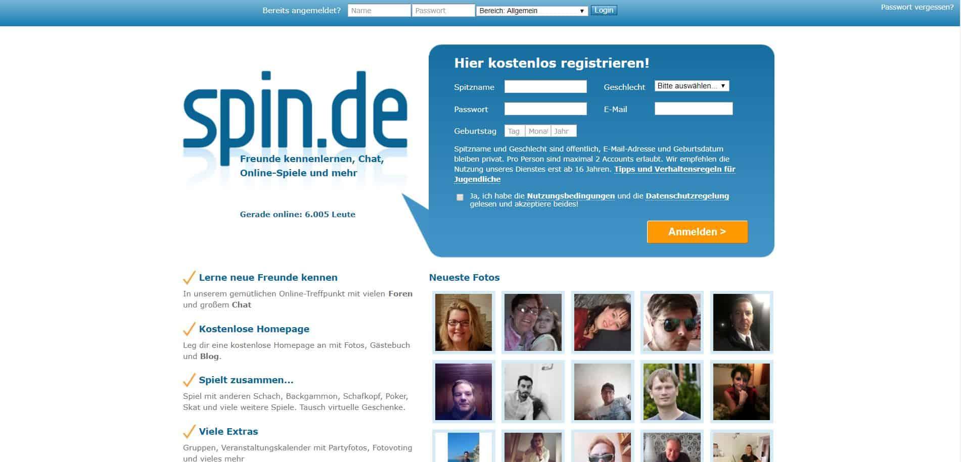 Testbericht: Spin.de