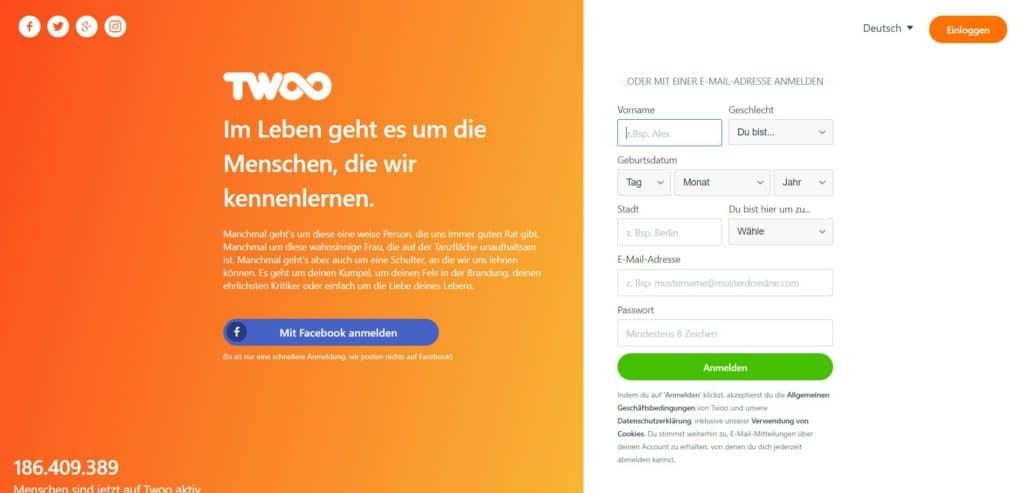 Testbericht: Twoo.com