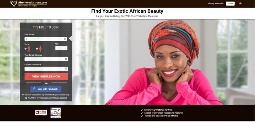 Testbericht: afrointroductions.com