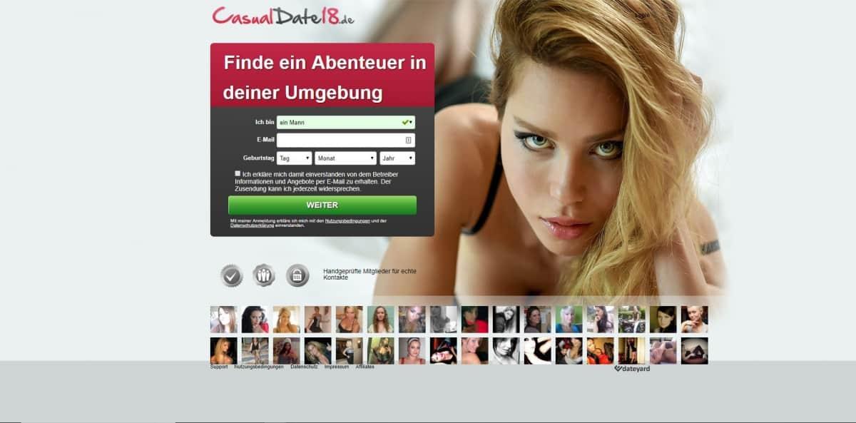 Testbericht: casualdate18.de