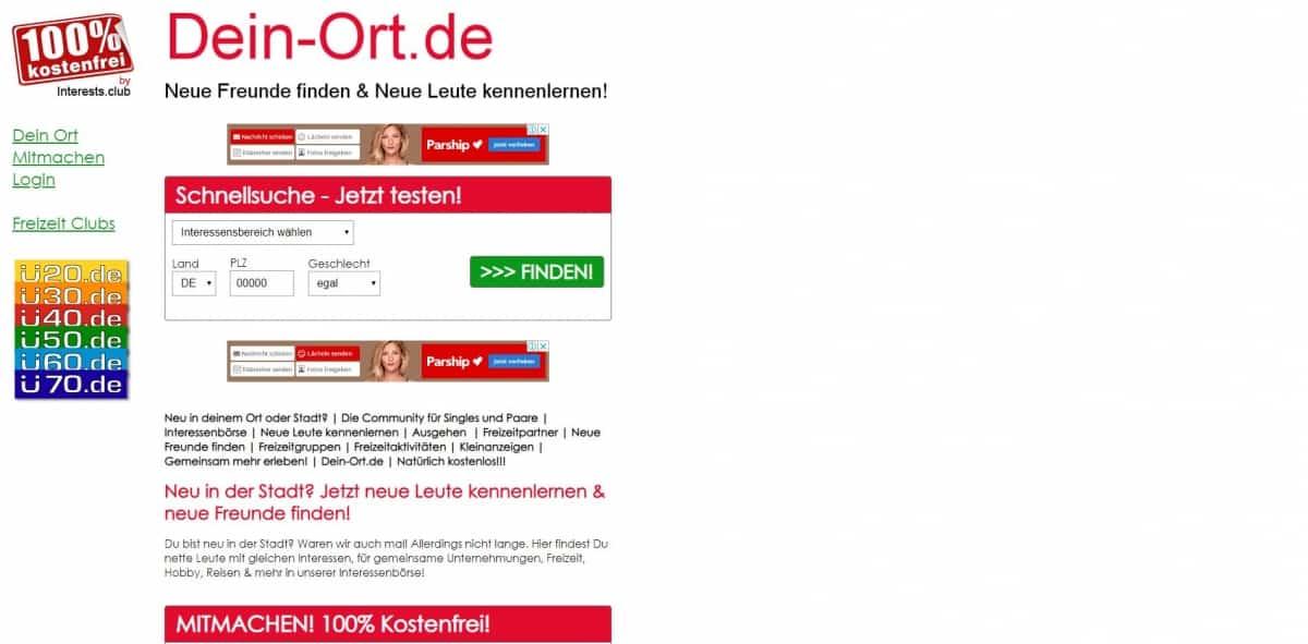 Testbericht: dein-ort.de