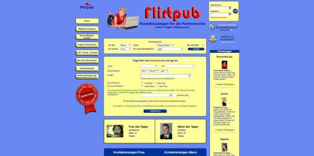 Testbericht: flirtpub.de
