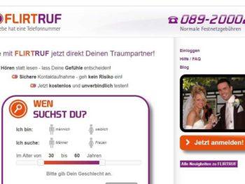 Testbericht: flirtruf.de