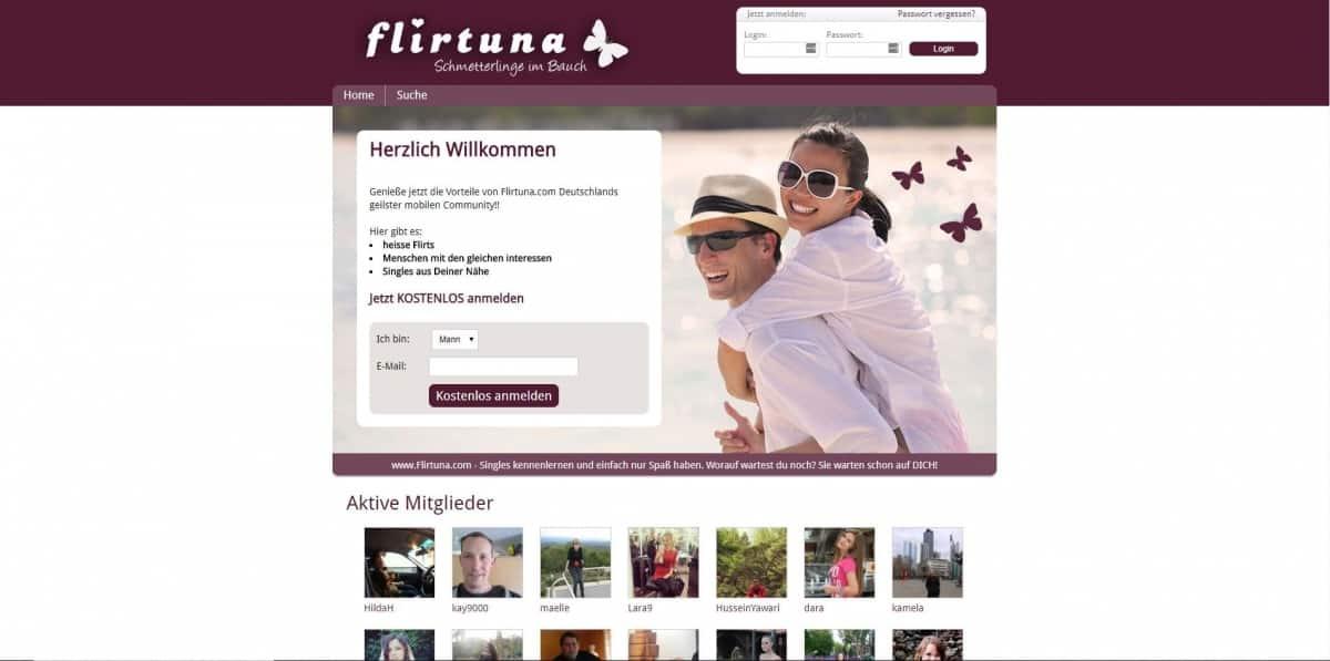 Testbericht: flirtuna.com