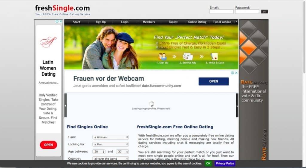 Testbericht: freshsingle.de