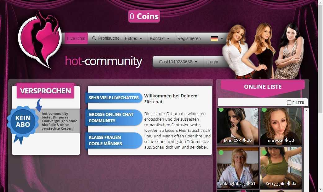Testbericht: Hot-community.com
