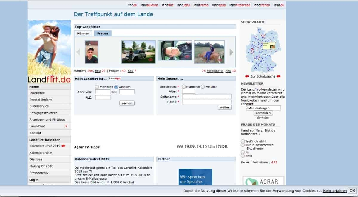 Testbericht: landflirt.de