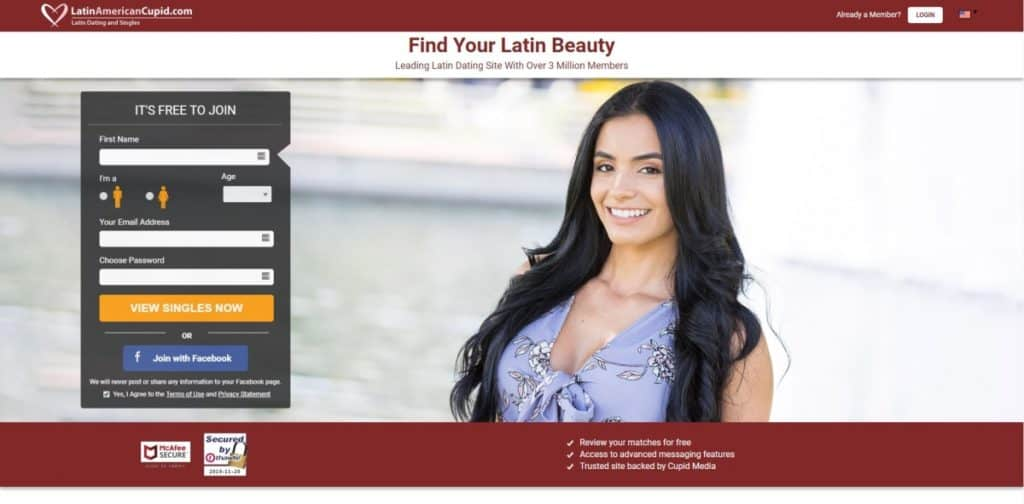 Testbericht: latinamericancupid.com