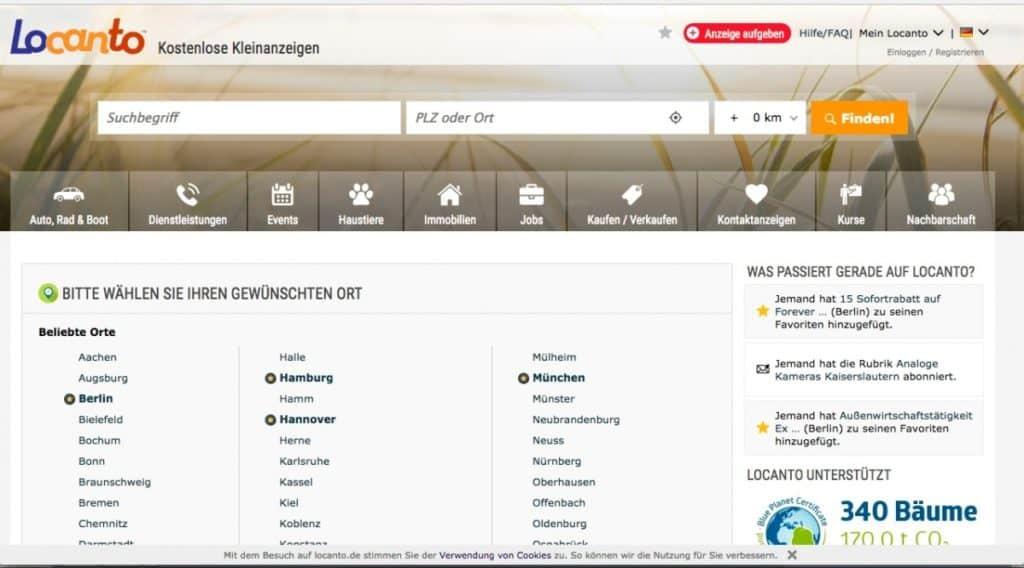 Testbericht: locanto.de