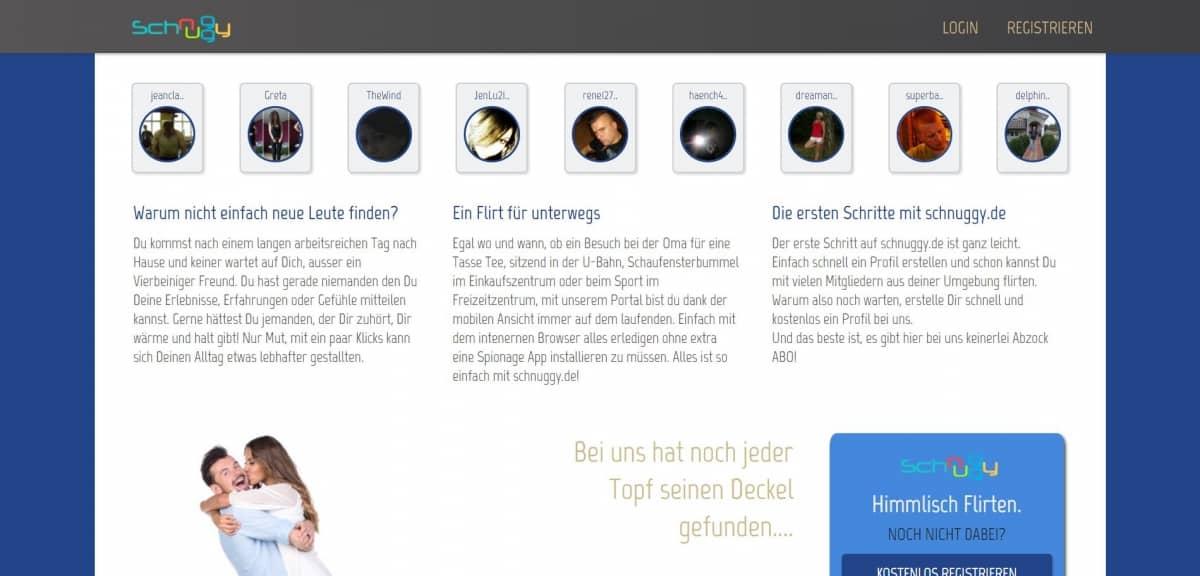 Testbericht: schnuggy.de
