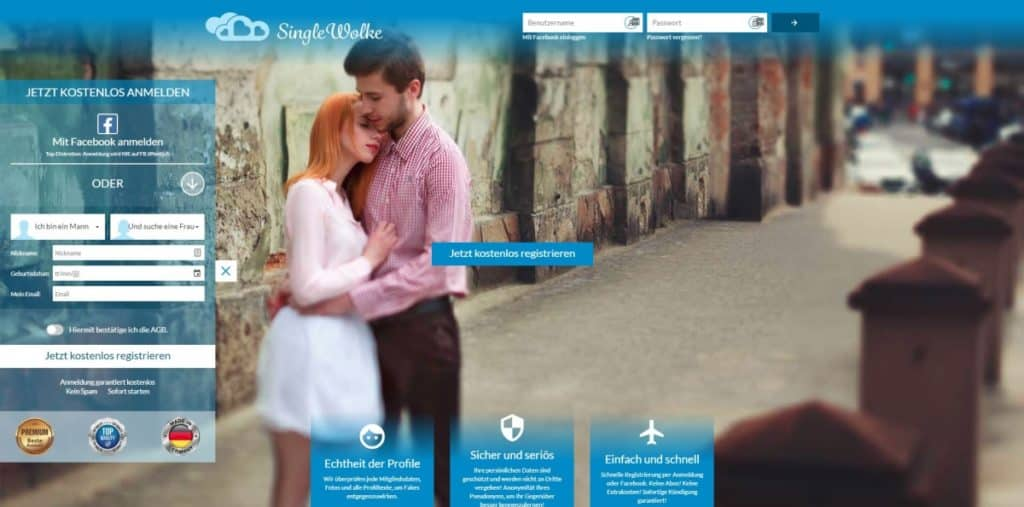 Testbericht: singlewolke.com
