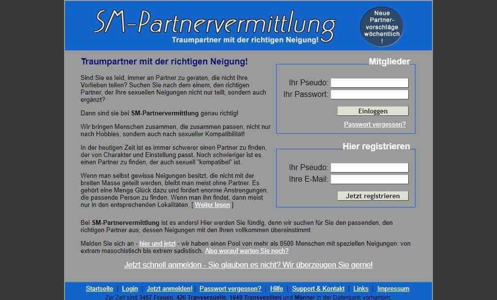 Testbericht: SM-Partnervermittlung.com