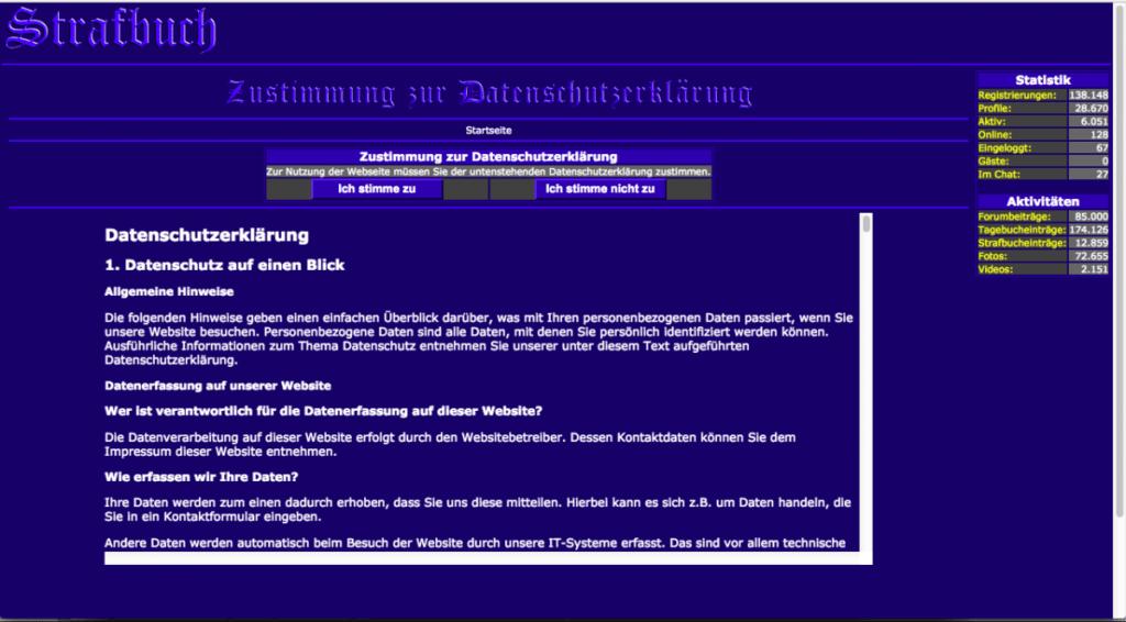 Testbericht - strafbuch.de
