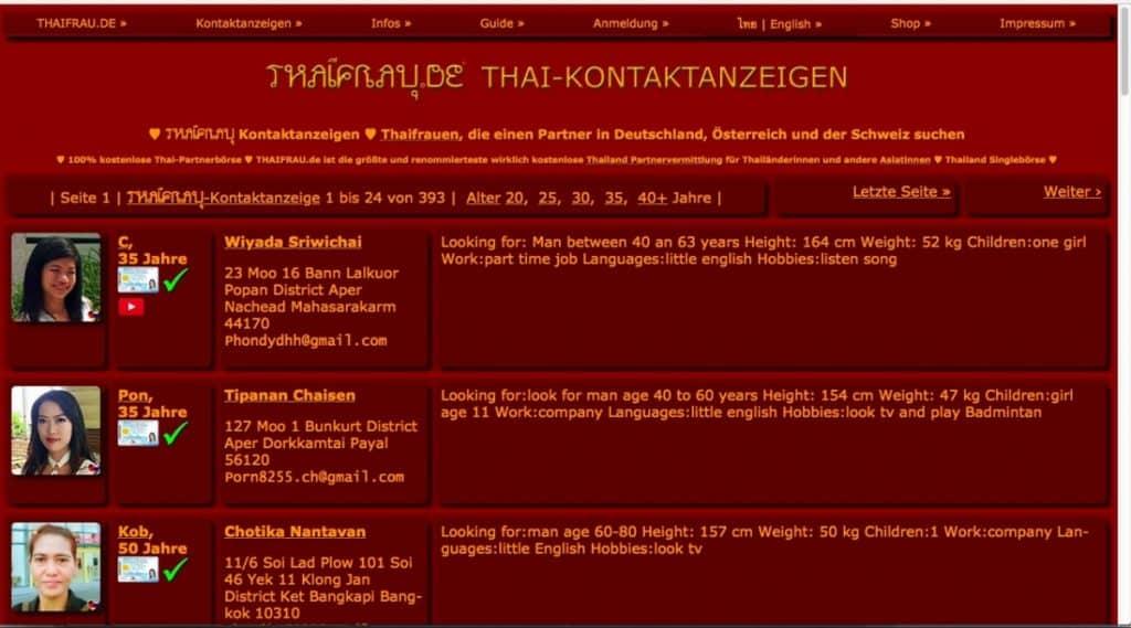 Testbericht: thaifrau.de