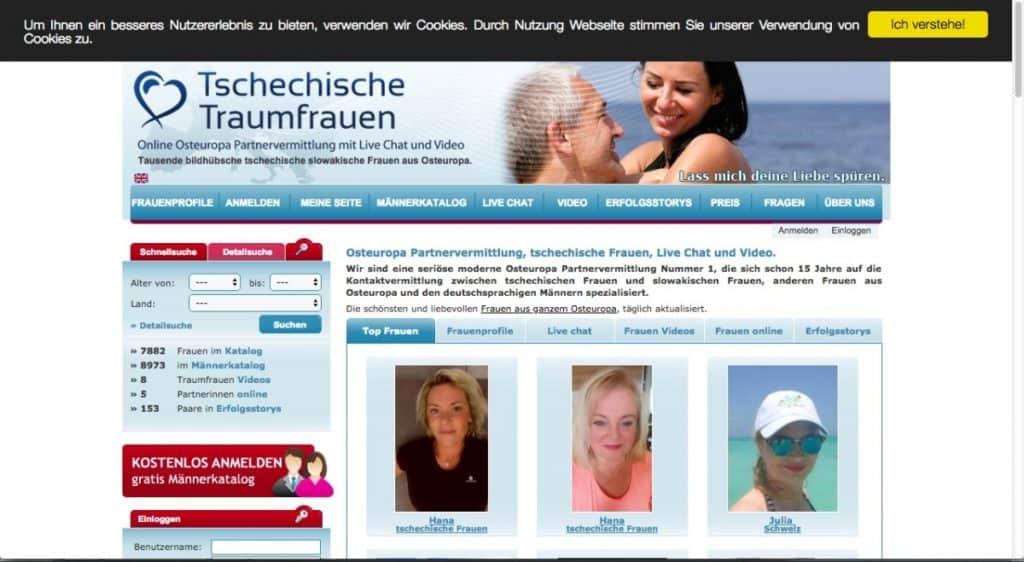 Testbericht: tschechische-traumfrauen.de