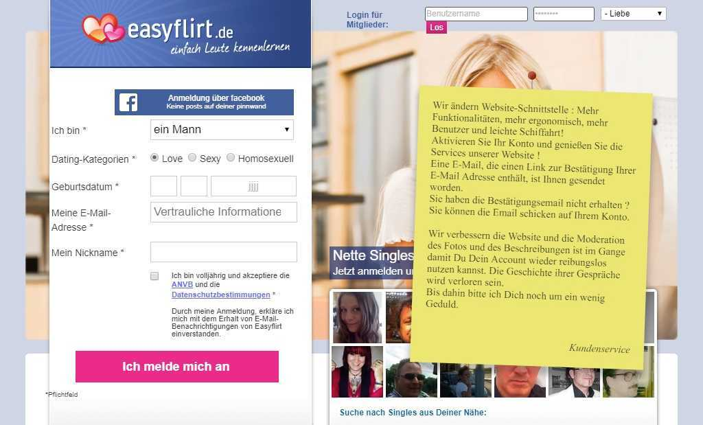 Testbericht: easyflirt.de