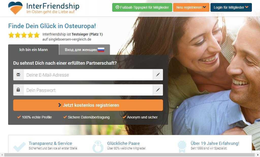 Testbericht: interfriendship.de
