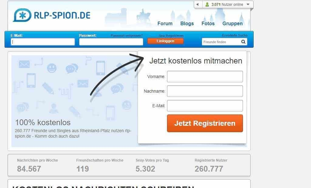 Testbericht: RLP-SPION.de