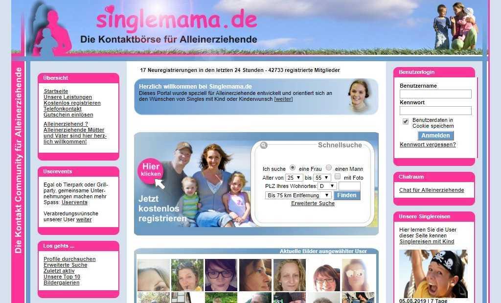 Testbericht: singlemama.de