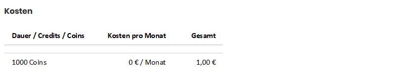Chatroom2000.de Kosten