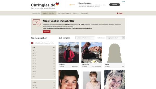 chringles.de - Mitgliederbereich