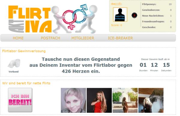 flirtiva.de - Mitgliederbereich