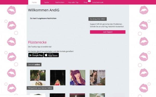 friendr.de - Anmeldung