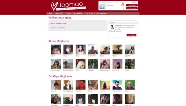 joomao.com - Mitgliederbereich