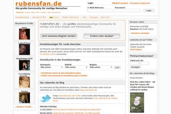 rubensfan.de - Anmeldung