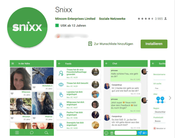 Snixx Mitgliederbereich