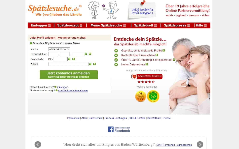 spaetzlesuche.de - Startseite