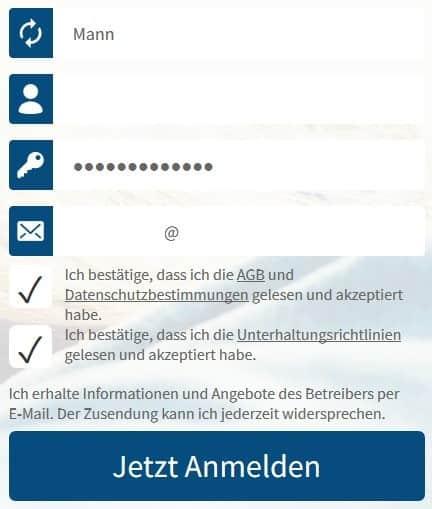 xpartner - Anmeldung