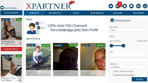 xpartner - Mitgliederbereich