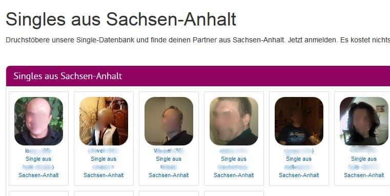 Der Mitgliederbereich von Single-Sektor.de