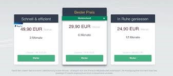 Die Kosten auf Be2.de