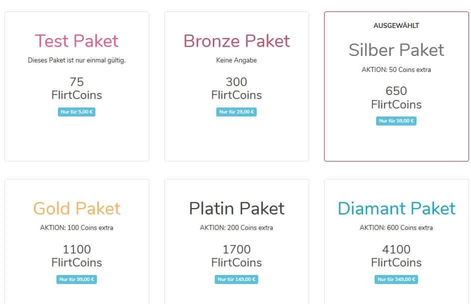 Die Preise auf Ladivaa.net