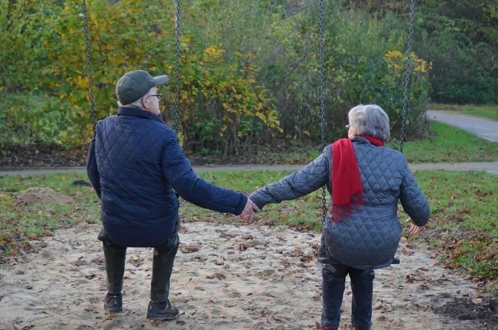 Flirten im Alter