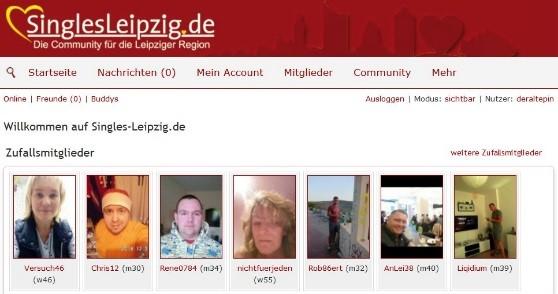SinglesLeipzig - Mitgliederbereich - Abzocke