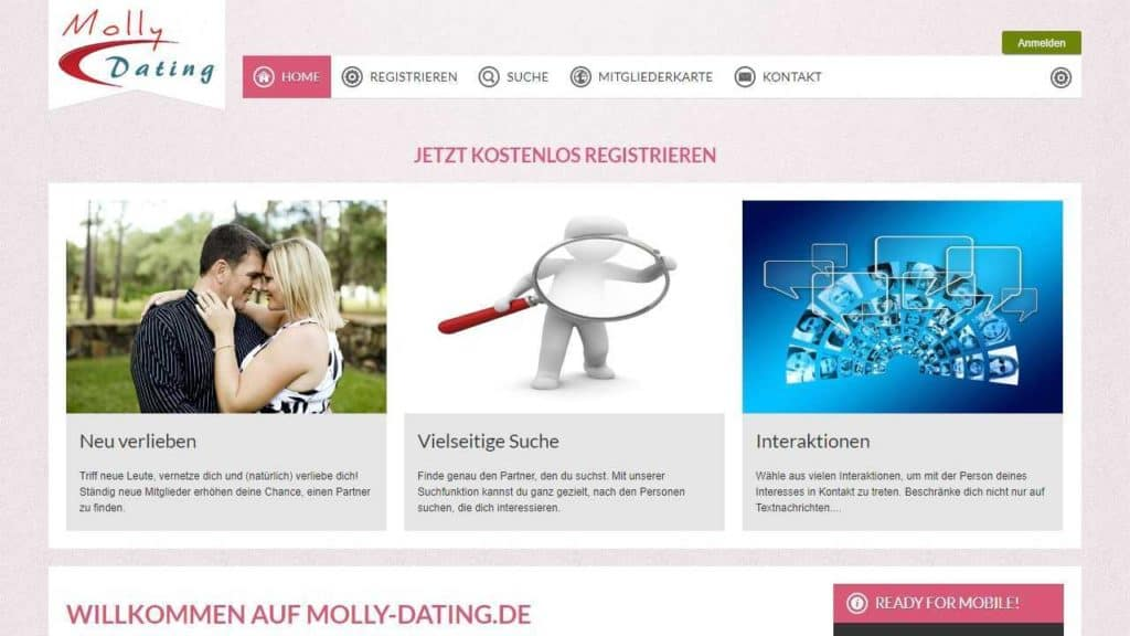 Testbericht: Molly-Dating.de